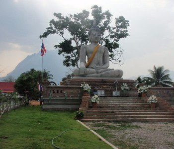 a Chiang Dao temple