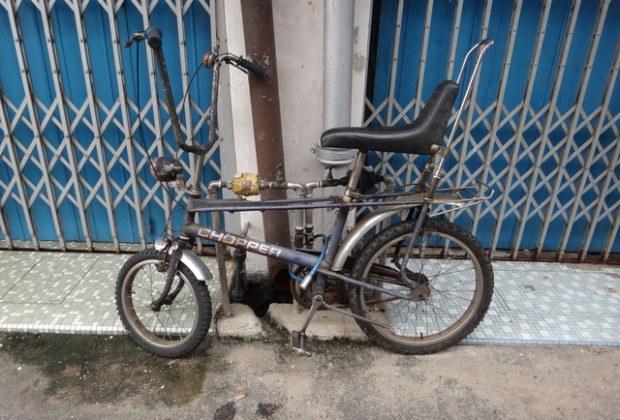 old bicycle Melaka