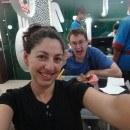 Tanya and Andrew at T-bowl Melaka