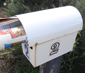 mailbox number 2 feature