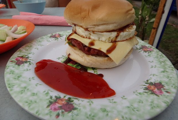 Malaysian Burgers