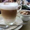 Coffee at Prego Restaurant, Chaweng Beach, Koh Samui