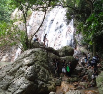 The very beautiful Namuang waterfall