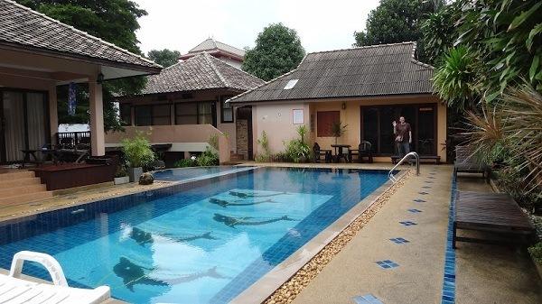 Meewaya Chaweng House - The fabulous pool
