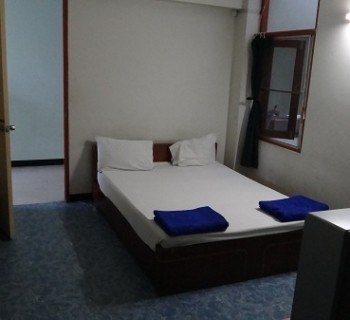Phetkasem Hotel - Double room with fan and aircon