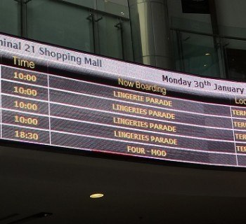 Terminal 21 Shopping Mall - Now Boarding!