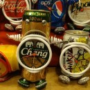 Time is on my side. Especially when it is made from a Chang beer can!
