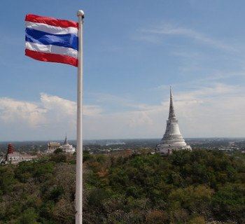 The view from Phra Nakhon Khiri in Phetchaburi