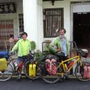 smiling cyclists Penang