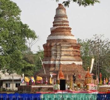 Chedi Wiang Kum Kam Chiang Mai