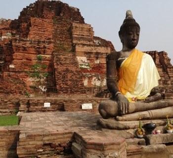 Golden Buddha, Ayutthaya, Thailand
