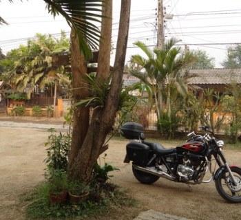 motorcycle in Mae Chaem Mae Hong Son loop