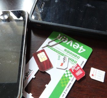 iPhones and Sim Cards From Around The World