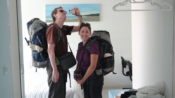 Leaving Thailand For Cambodia With Our Wordly Possessions