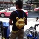 Pooh Bear at Songkran in Bangkok