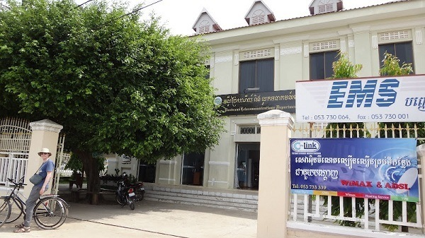 The Post Office EMS in Battambang Cambodia