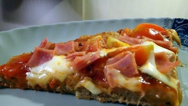 Easy Peasy One Pan Wonder Pizza Slice