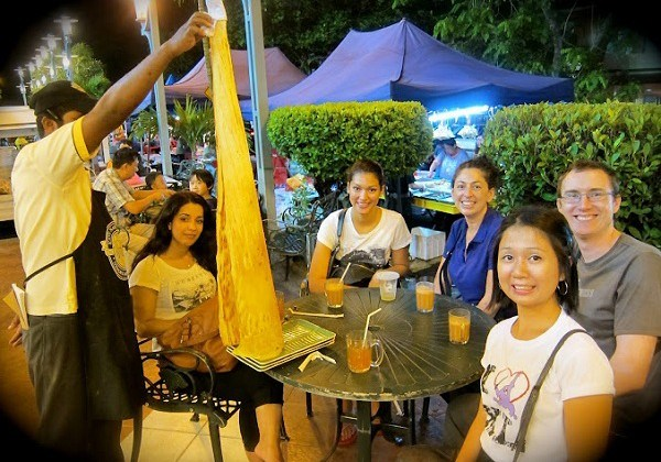 Food Tour Malaysia with the Tissue Paper Dosa