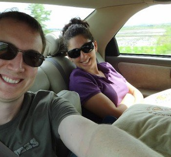 Sihanoukville to Phnom Penh Airport - Us In The Comfortable Taxi