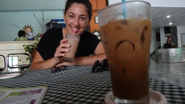 Ice coffee in Chiang Mai, Thailand