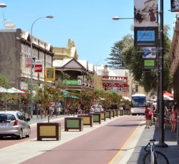 Fremantle's famous cappuccino strip