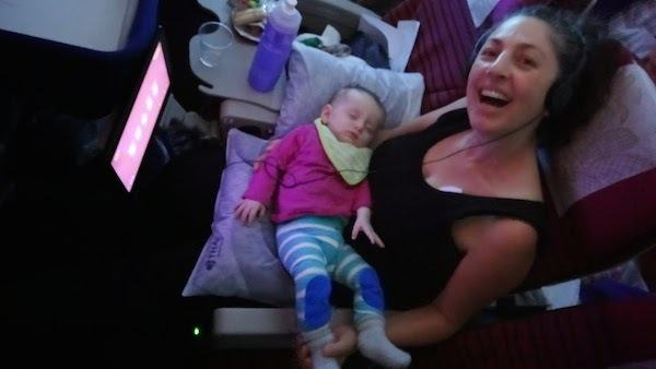 The Joys Of Flying With A Baby!