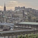 the view from calton hill edinburgh