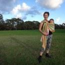 Hugabub Eucalyptus Dreaming Organic Mesh Ring Sling Review