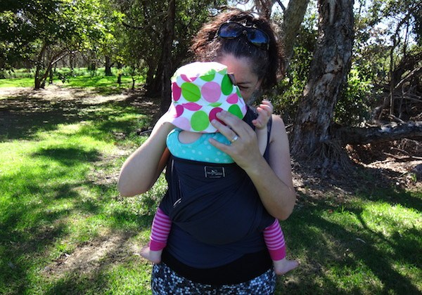 HugaBub Organic Cotton Lightweight Baby Carrier Review