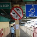 things not allowed on the Penang Butterworth ferry