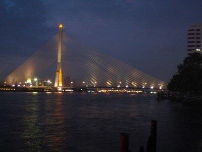 a bridge in Bangkok