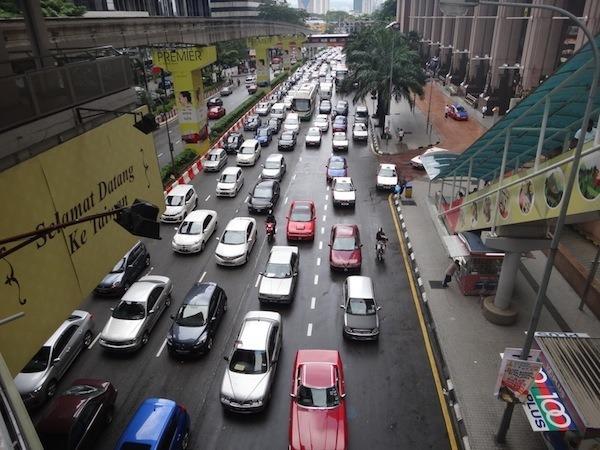 Kuala-Lumpur-traffic