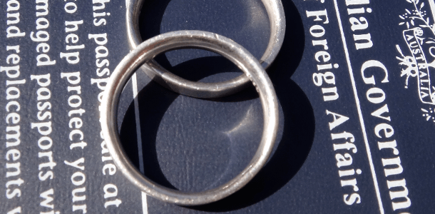 What Do We Do With Our Wedding Rings While We Are Traveling?
