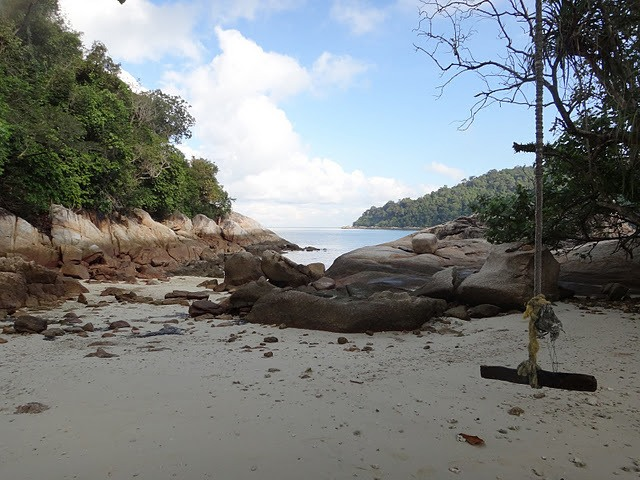 beach on Pulau Pangkor Pangkor Island