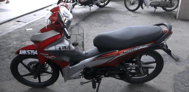 Renting A Motorcycle On Pulau Pangkor