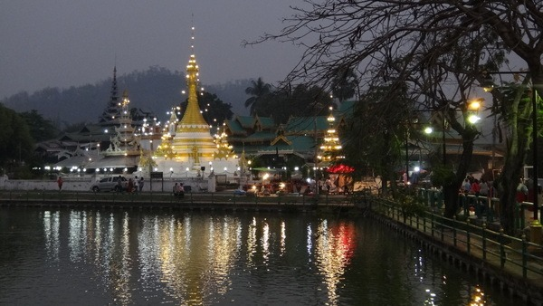 A temple in Mae Hong Son