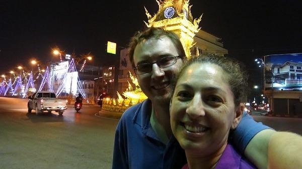 The Clock Tower In Chiang Rai