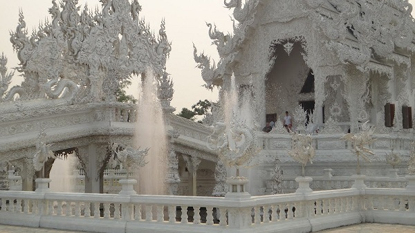 The White Temple near Chiang Rai