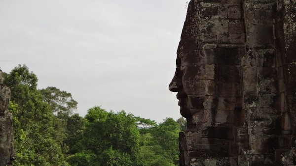 The temples of Angkor just outside Siem Reap