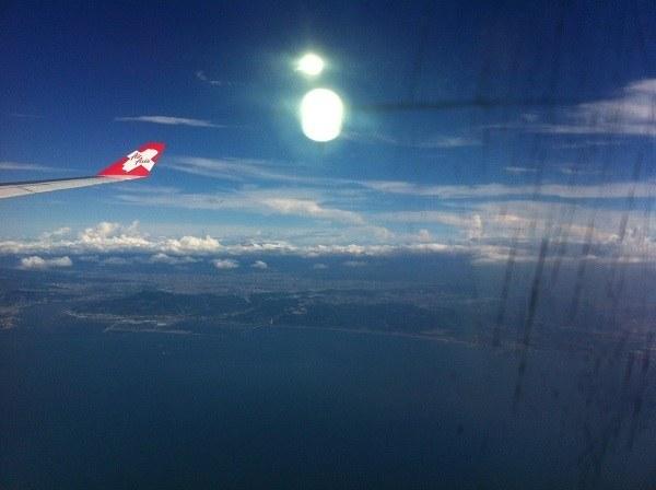 Flying Air Asia From Kuala Lumpur, Malaysia to Taipei, Taiwan