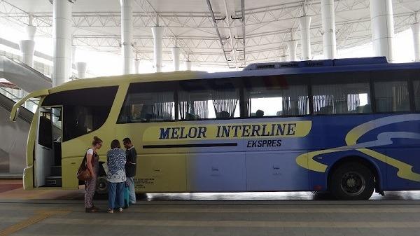 A Malaysian bus
