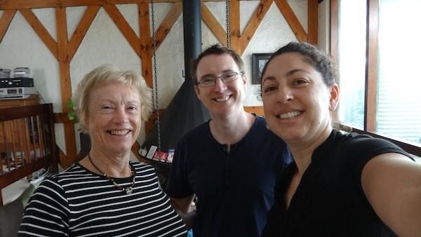 Helen Andrew Tanya Christmas 2012