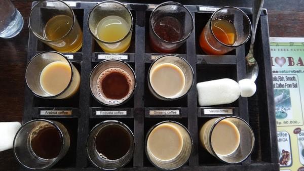 Coffee Tasting Plate Bali