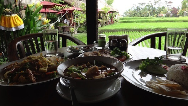 Warung Rai Pasti During The Day In Ubud