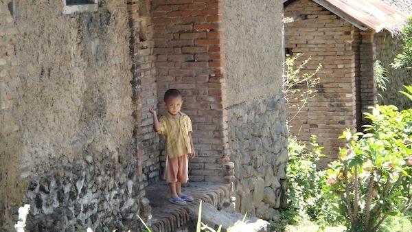 Boy At Teneganan Village