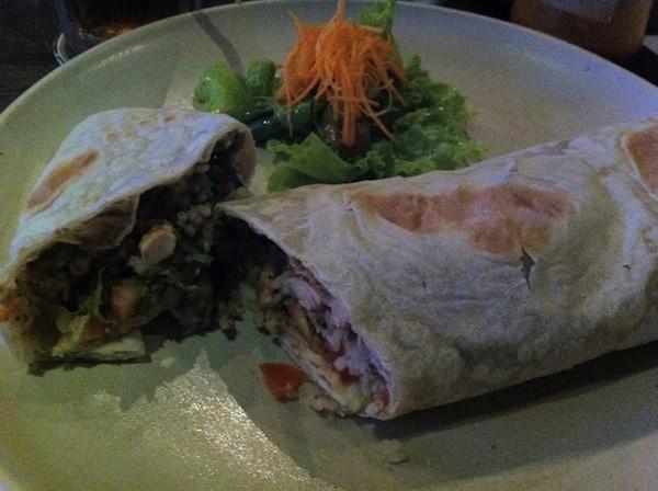 Burrito At La Libre Taqueria Kerobokan Bali