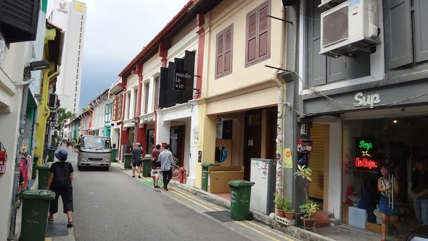 A backstreet in Singapore
