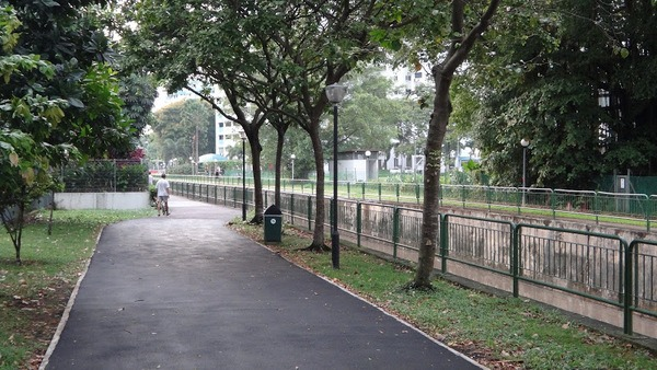 Footpath by Canal Singapore