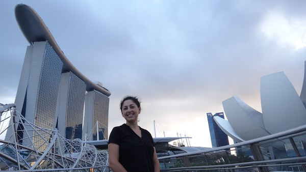 Tanya at Marina Bay Singapore