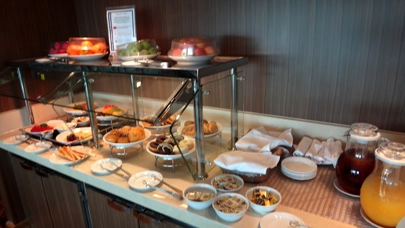 Concierge Lounge Continental Breakfast